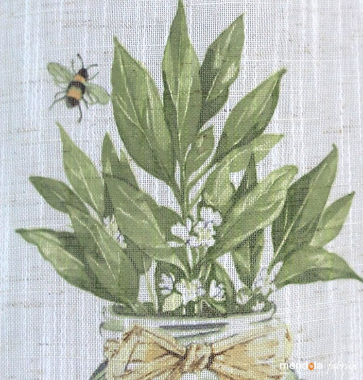 Material Draperie bucatarie Cassia C1, 150cm