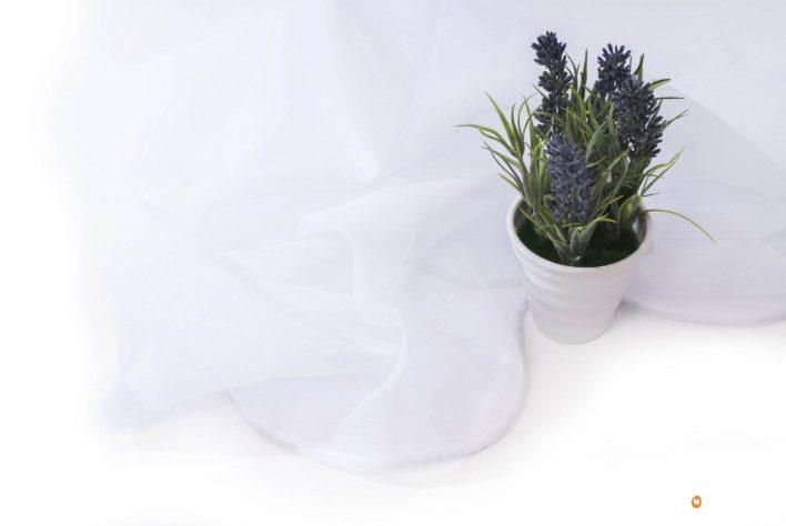 Material Perdea Vicenza alb 300cm