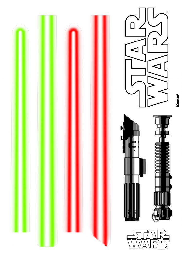 Sticker Star Wars Lightsaber