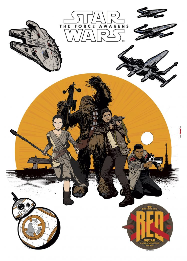 Sticker Star Wars Resistance