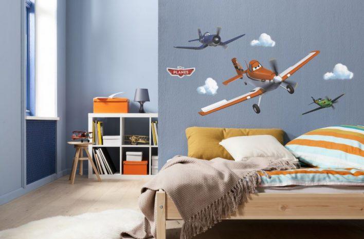 Sticker Planes Dusty