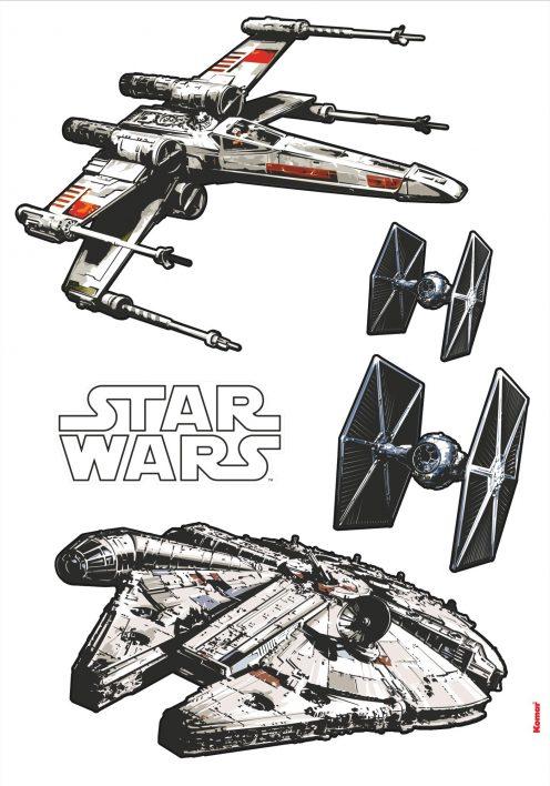 Sticker Star Wars Spaceships