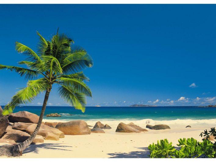 Fototapet Seychellen