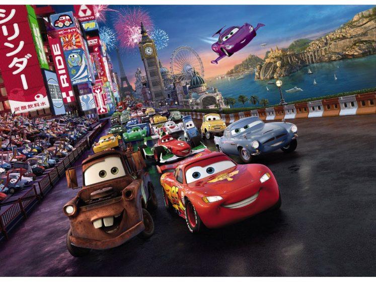 Fototapet Cars Race