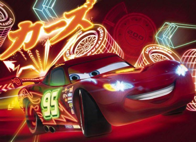 Fototapet Cars Neon