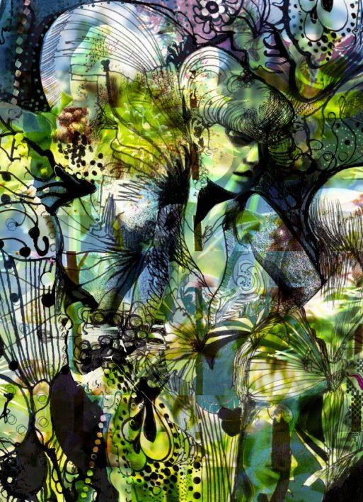 Fototapet Aphrodite's Garden