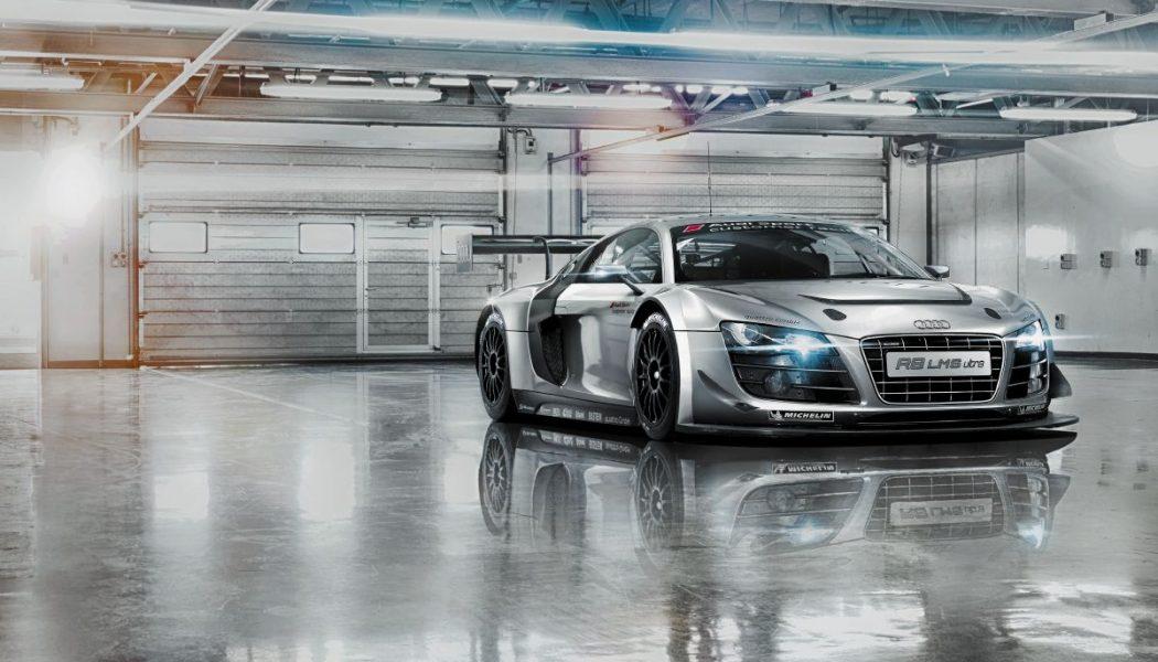 Fototapet Audi R8 Le mans