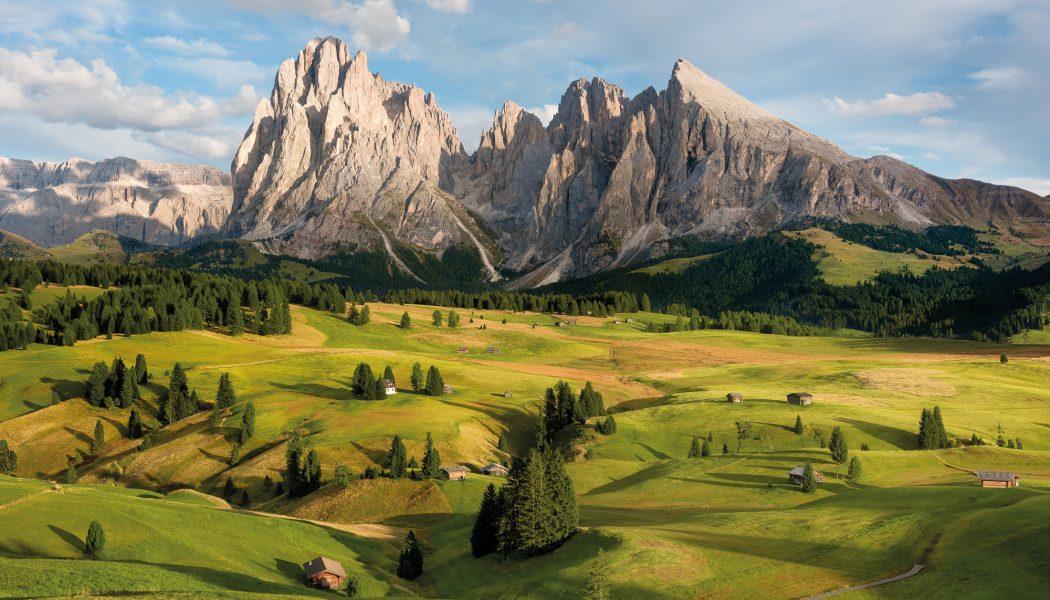Fototapet Alpen