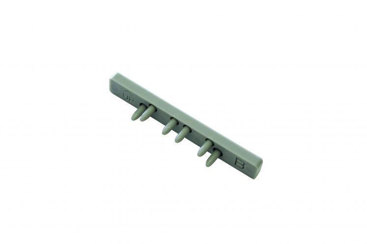 Capac lateral pentru sina aluminiu 2 canale