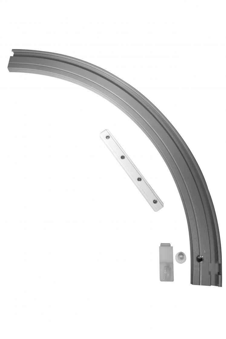 Cot exterior drepta pentru sina aluminiu