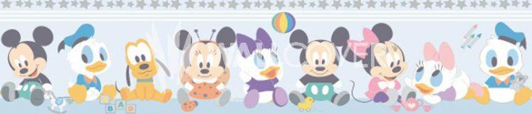 Bordura tapet baby characters