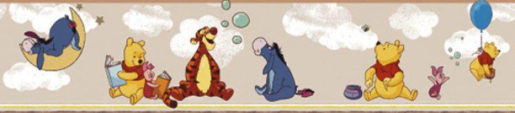 Bordura tapet Winnie the pooh