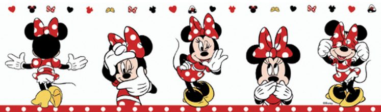 Bordura tapet sweet minnie