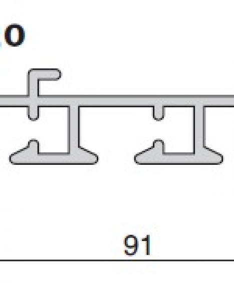 Sistem panou japonez cu snur